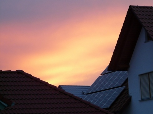 gable solar cells home
