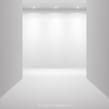 gallery display background 10 vector