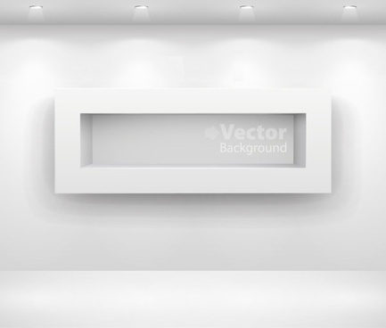 gallery display background 14 vector
