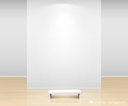 gallery display background 16 vector