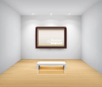 gallery of publicity box 01 vector