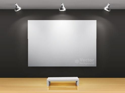 gallery of publicity box 04 vector