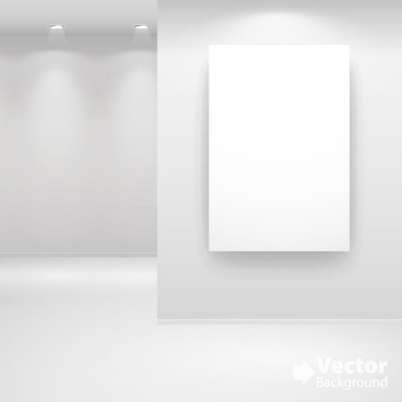 gallery show background 07 vector