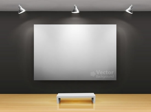 gallery shows background vector