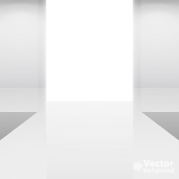 gallery shows wall background vector
