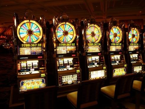 gambling machine one-armed bandit money