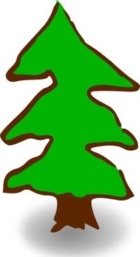 Game Map Symbols Tree clip art