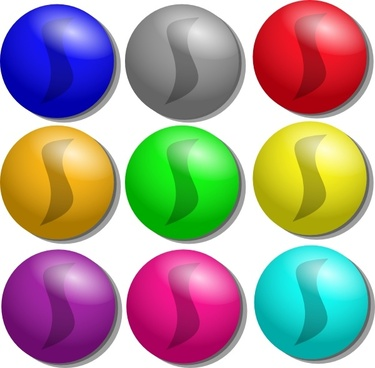 Game Marbles Dots clip art