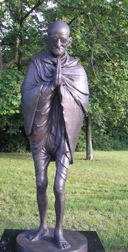 gandhi symbol statue of liberty