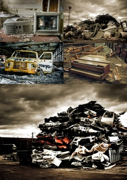 garbage chaos wastes highdefinition picture