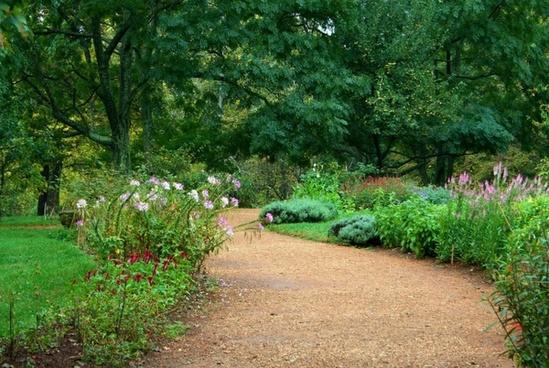 garden path pea gravel sand