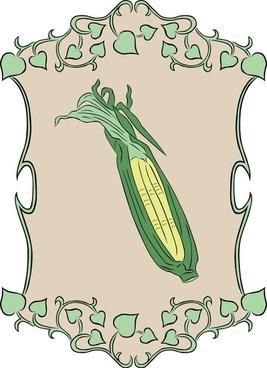 Garden Sign Corn