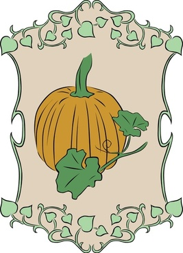 Garden Sign Pumpkin