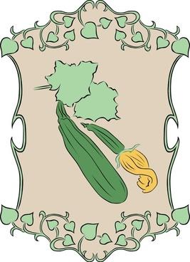 Garden Sign Zucchini
