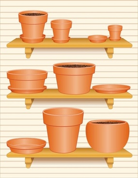 gardening theme 03 vector