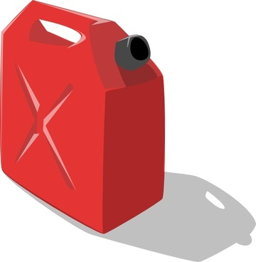Gas Container clip art