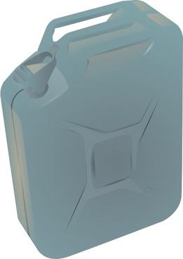 Gas Container Jug clip art