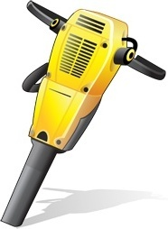 gas powered drill