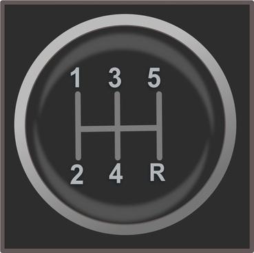gear shift knob icon