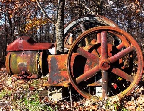 gears machine scrap