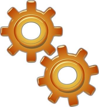 Gears Motion Motor Engine clip art