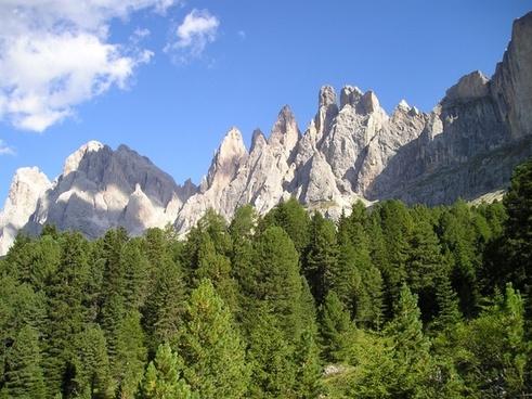 geisler range dolomites south tyrol
