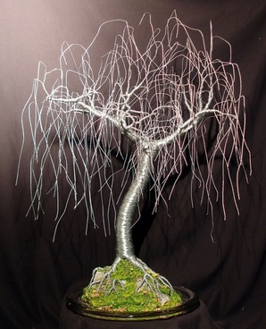 gentle willow wire tree
