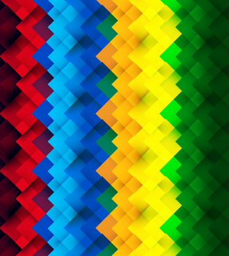 geometric colorful seamless pattern texture design vector background