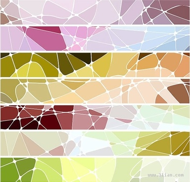 abstract background templates bright colored geometric decor