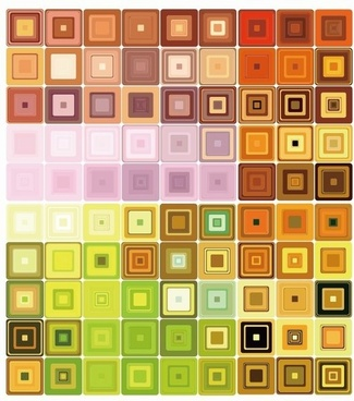 Geometric Mosaic Vector Background