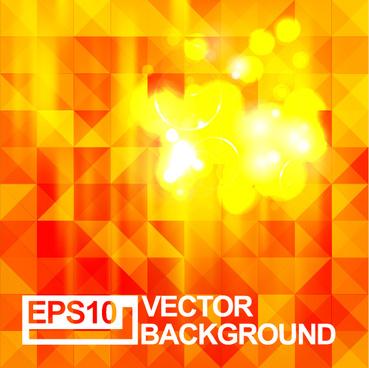 geometric shapes blurs background vector