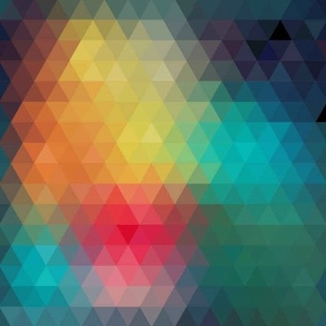geometric shapes blurs background vector