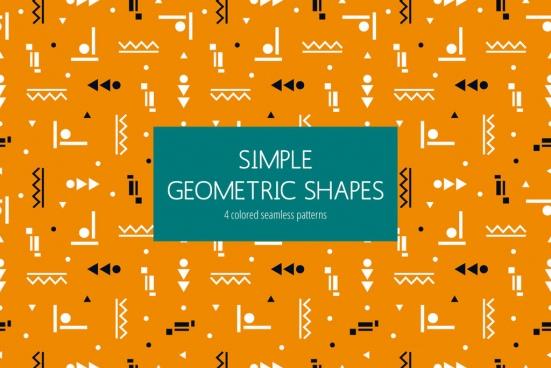 geometric vector pattern