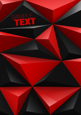 geometry concept background vector