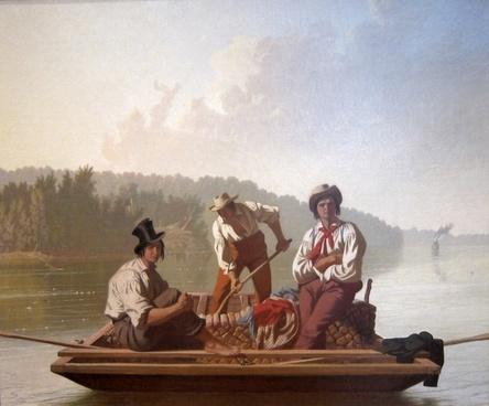 george bingham art painting