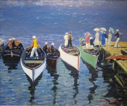 george luks art painting