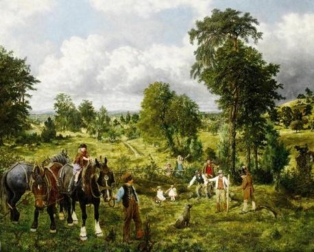 george mote painting art