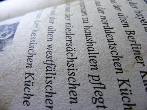 german paper book
