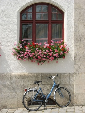 germany bicycle window
