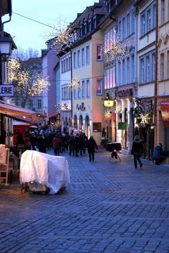 germany christmas night
