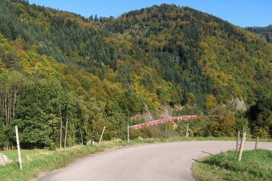 germany landscape road