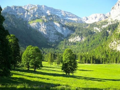 germany mountains landscape