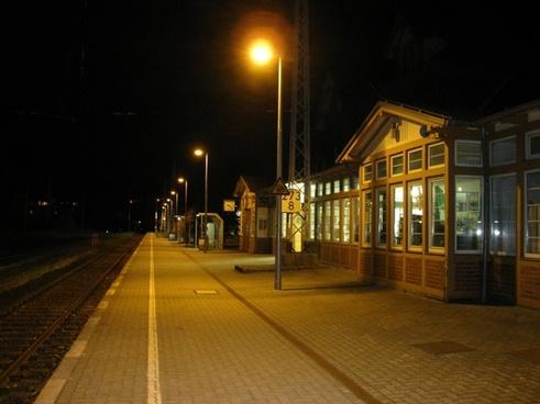 germany train station platform