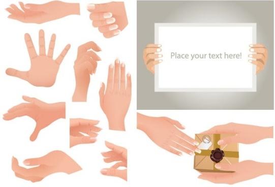 gestures vector