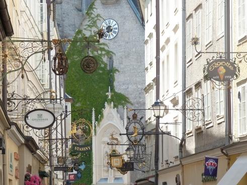getreidegasse salzburg alley