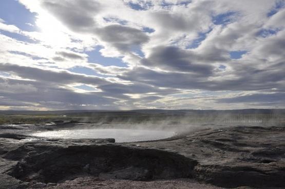 geyser iceland water