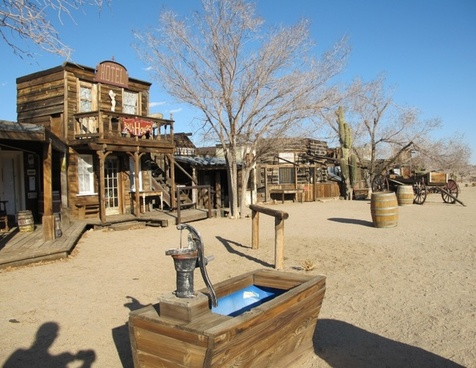 ghost town pioneertown california