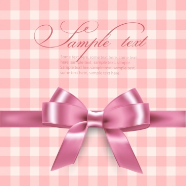 Gift background free vector download 47190 free vector for gift background pink knot icon 3d design negle Images