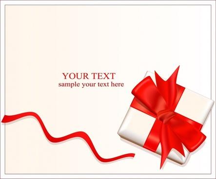 present box background modern bright 3d design