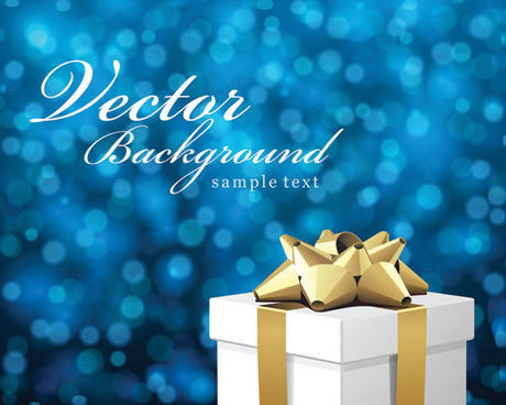 gift fantasy background vector